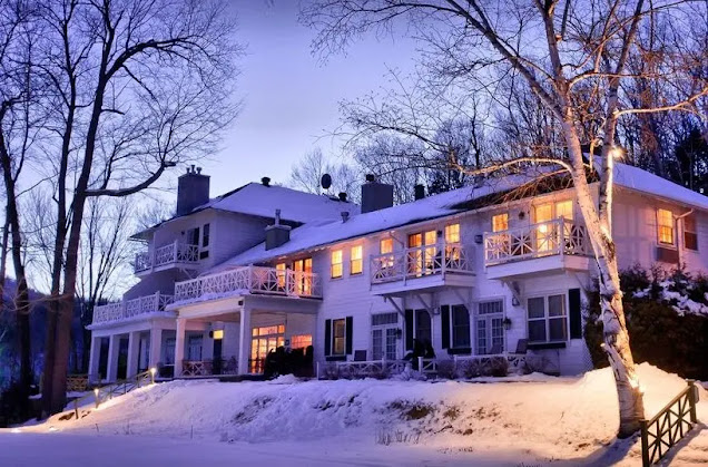 hotel Manoir Hovey in Quebec Province   Canada