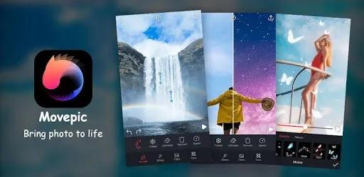 Movepic هو تطبيق مفيد وسهل الاستخدام. يحتوي على مجموعة من الأدوات لمساعدتك في إنشاء تأثيرات الحركة لصورك ، ببساطة وبسرعة.