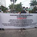 Alemako Gelar Aksi Desak Kejati Sultra usut Dugaan Korupsi di Dinas Pendidikan dan Kebudayaan Sultra