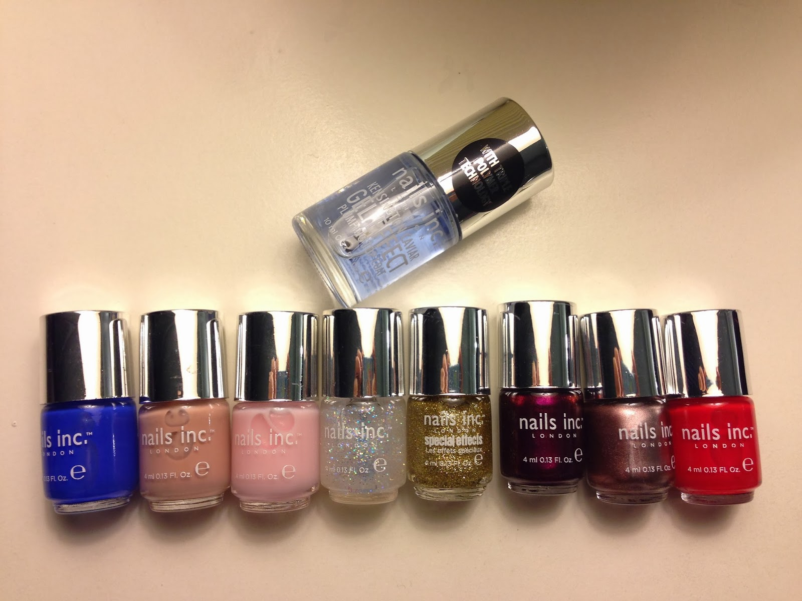 Blogmas Day 11: Nails Inc Capsule Colours Collection