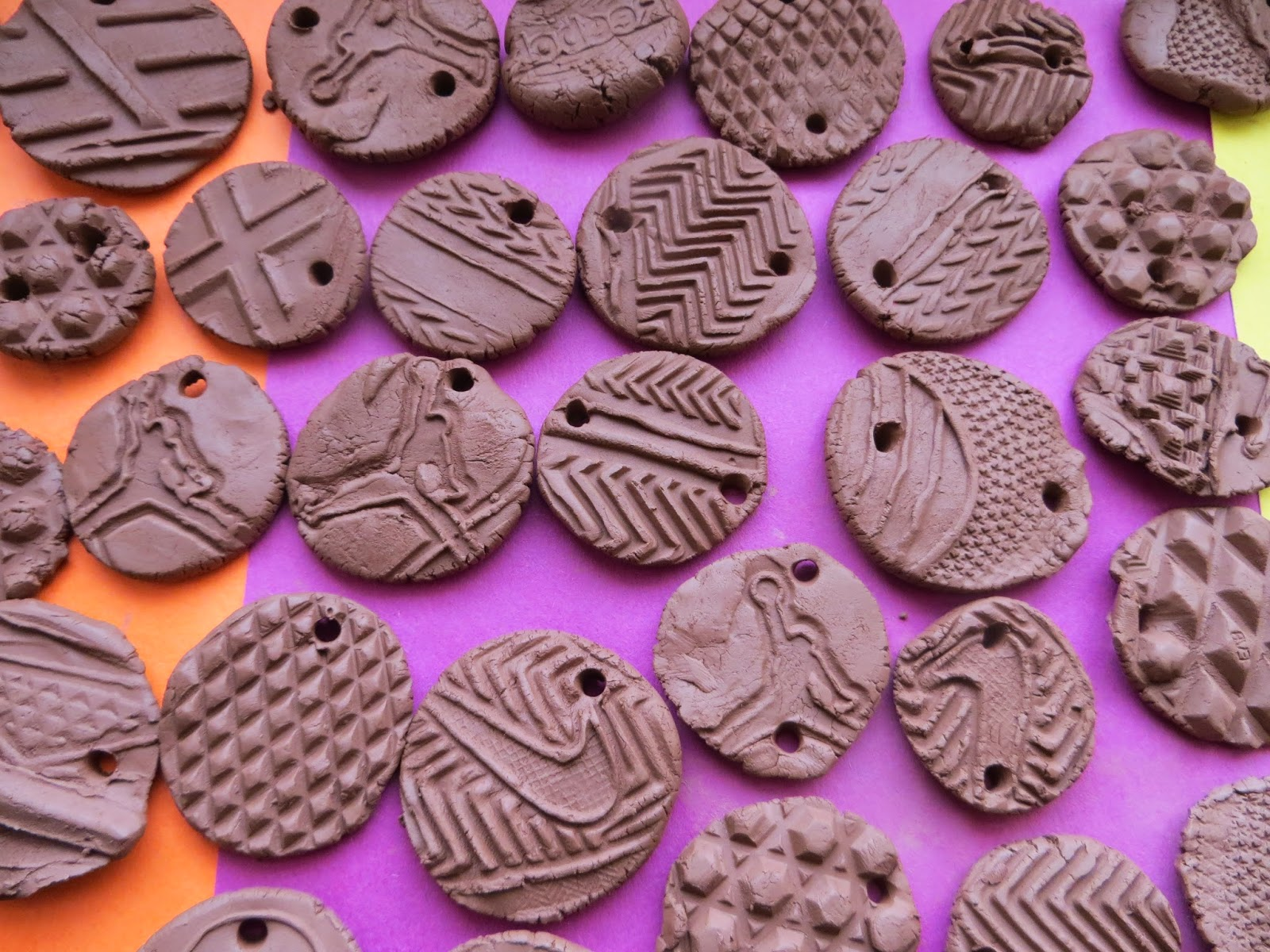 Time For Art Shoe Sole Clay Pendants
