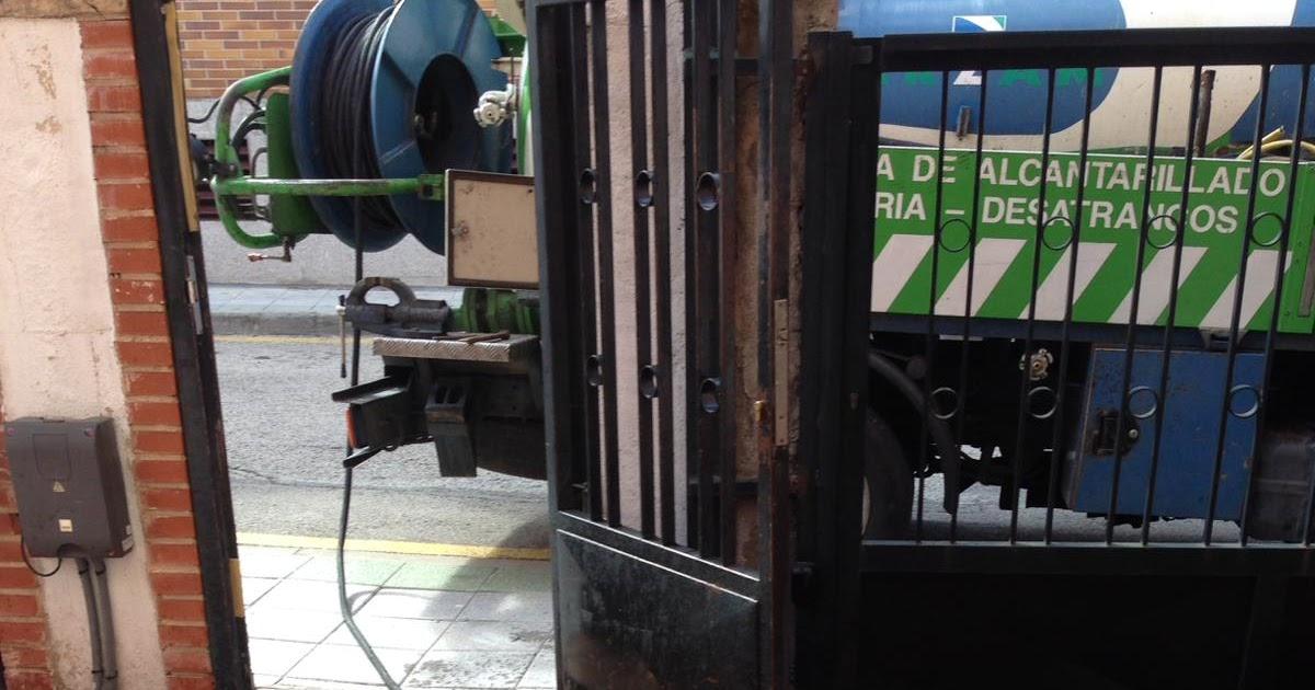 Desatascos de tuberías y arquetas en Las Rozas