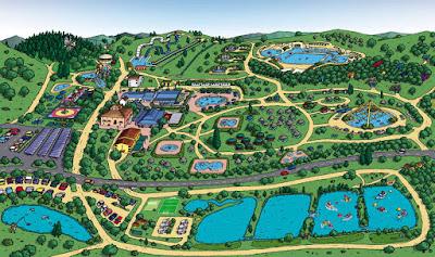 Mappa Aquapark della Salute Più