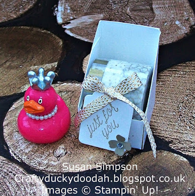 Stampin' Up! UK Independent Demonstrator Susan Simpson, Craftyduckydoodah!, February 2017 Customer Thank You Gift, Gorgeous Grunge, Supplies available 24/7,
