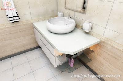 Tủ lavabo nhựa cao cấp siêu chịu nước