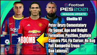 Download PES 2021 PPSSPP Android Offline Chelito V7 Final Update Transfer Musim 2020-2021
