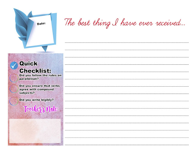 Journal Writing Workbook