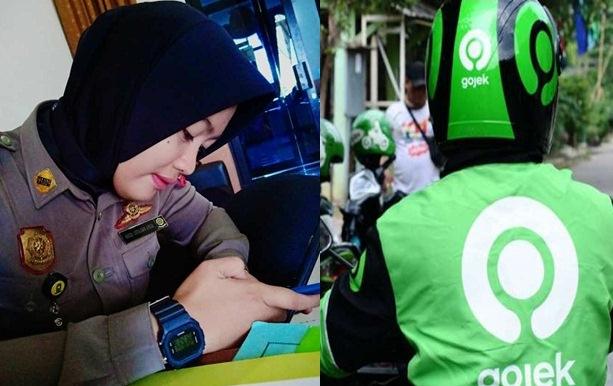 Alifa Nailatul Izzah, Begini Cara  Menggunakan Aplikasi VanOJEK Online SINJAI