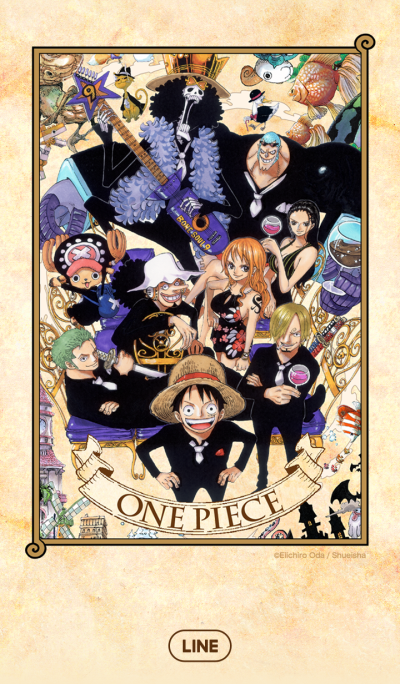 ONE PIECE Comic Design