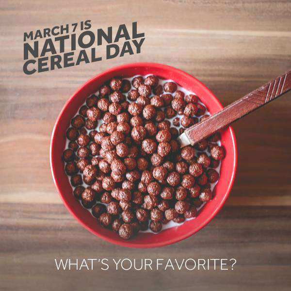 National Cereal Day Wishes Photos