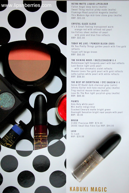 MAC Kabuki magic collection reviews