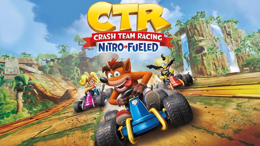 crash team racing nitro-fueled switch ps4 xb1