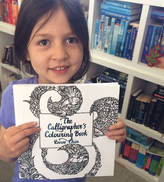 The Calligrapher's Colouring Book held by Esky