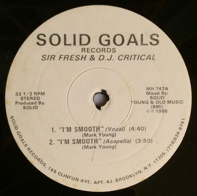 Sir Fresh DJ Critical Sally And Dee