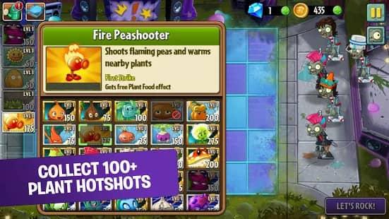 Plants Vs Zombies 2 Mod apk Unlimited money