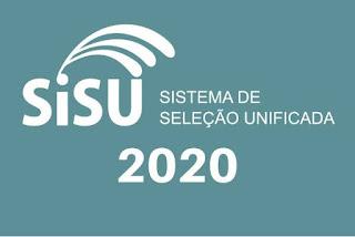 SiSU 2020.1 abre inscrições nesta terça-feira, dia 21. Na UFCG, estão sendo ofertadas 3.160 vagas