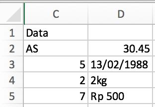 mengenal fungsi COUNT di Microsoft Excel