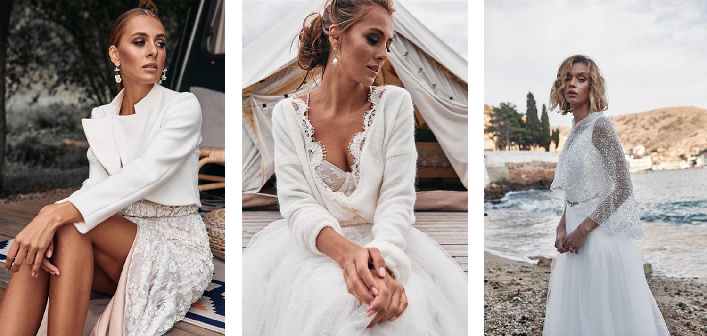 Inspirationen für Brautkleid-Boleros und Brautkleid-Jacken von Etsy