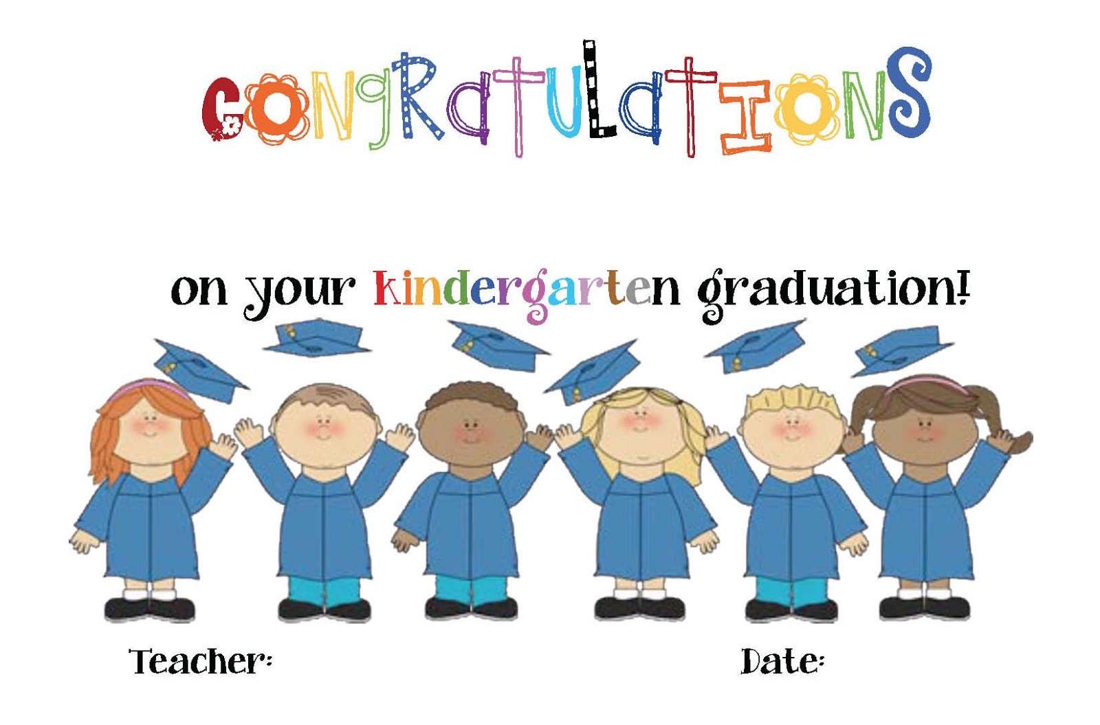 kindergarten and preschool graduation certificates classroom freebies