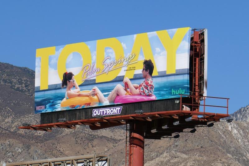 Today Palm Springs movie FYC billboard
