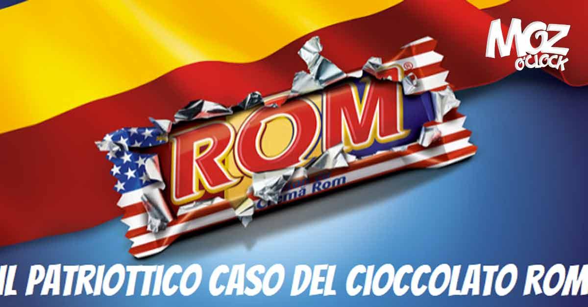 Il cioccolato ROM dalla Romania