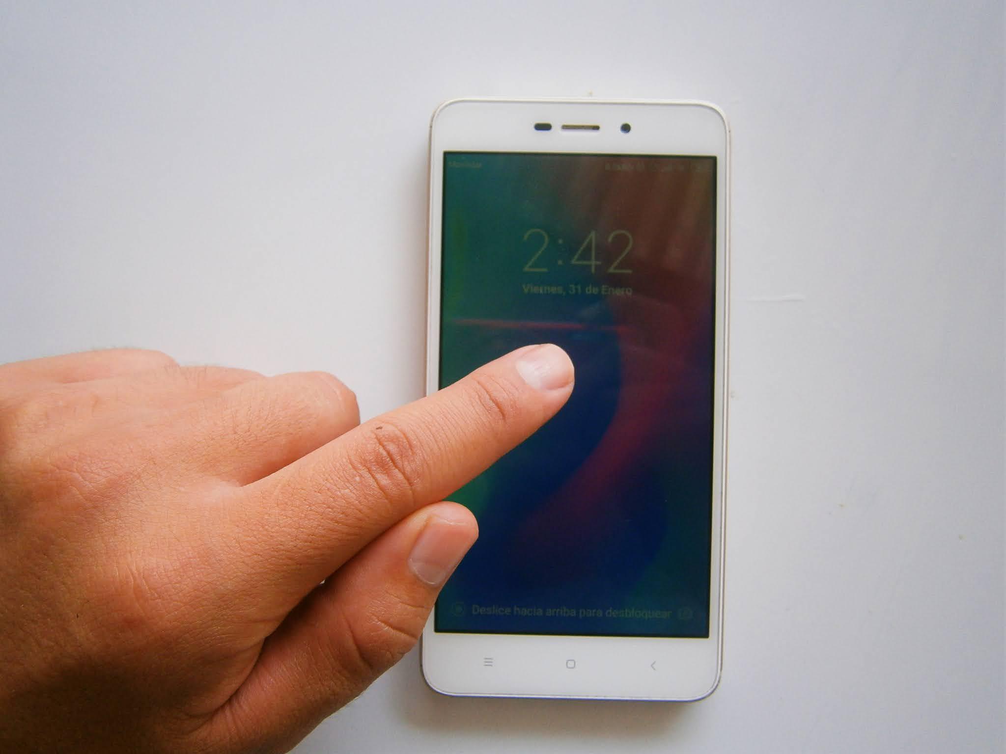 fotografía de Vista previa de un SmartPhone XIAOMI