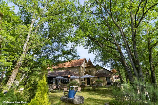 Jardín del Auberge de Castel Merle - Francia por El Guisante Verde Project