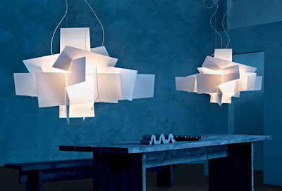 Modern lighting design by Foscarini Big-Bang lamps