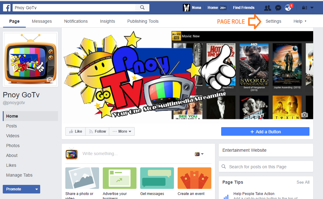 how to add another account on facebook