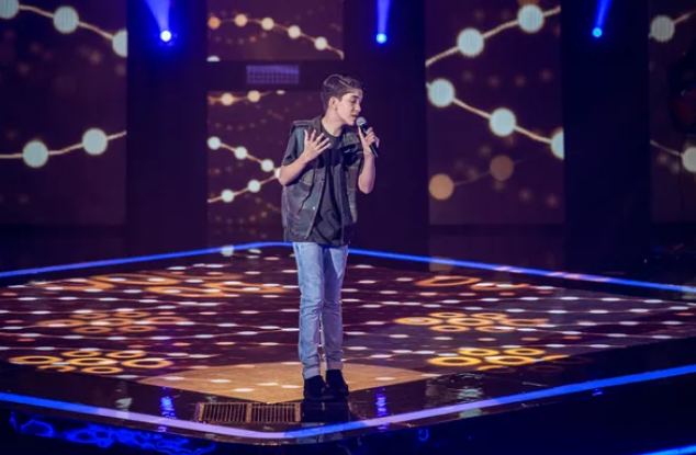 Adolescente de Ouro Branco entra para o time de Simone e Simaria no The Voice Kids