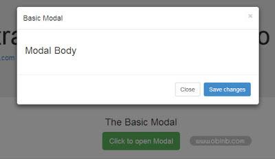 Tạo cửa sổ popup đơn giản chuyên nghiệp với bootstrap