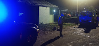 Antisipasi Gangguan Kamtibmas Polsek Alla Gelar Blue Light Patrol