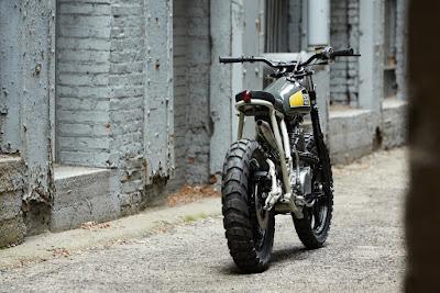 "Yamaha SR 500 ""Street Tracker"""