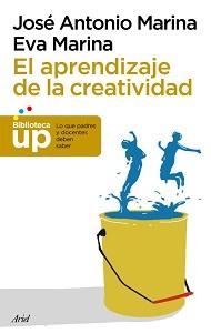 Portada original de El aprendizaje de la creatividad, de José Antonio Marina y Eva Marina