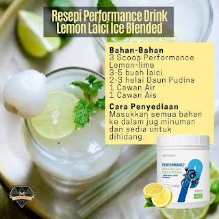 Resepi Performance Drink Hilangkan Dahaga