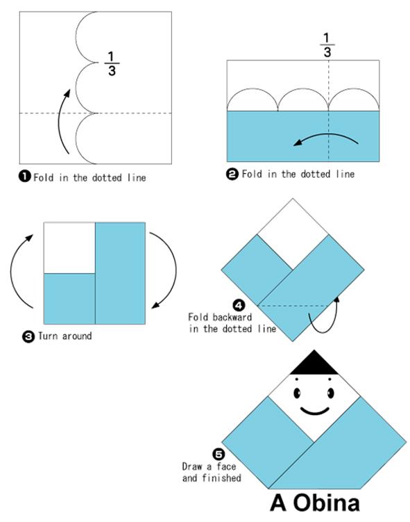 Basit Origami Diagramlar Simple Origami Genelsanatlar