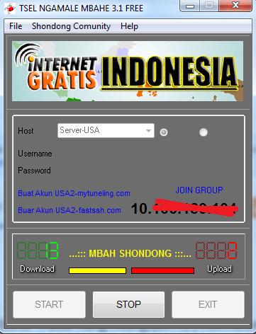 Download SSH INTERNET GRATIS 1 BULAN TSEL [Edisi Januari 2015]