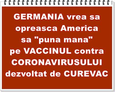 vaccin contra coronavirusului curevac germania