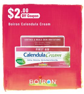 Boiron Calendula Burn $2 off coupon