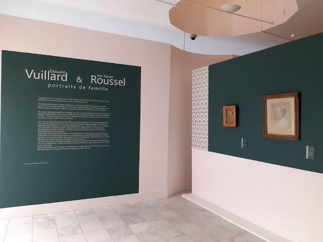 Exposition impressionnisme Vuillard Roussel Portraits de famille musée de Vernon Normandie musée