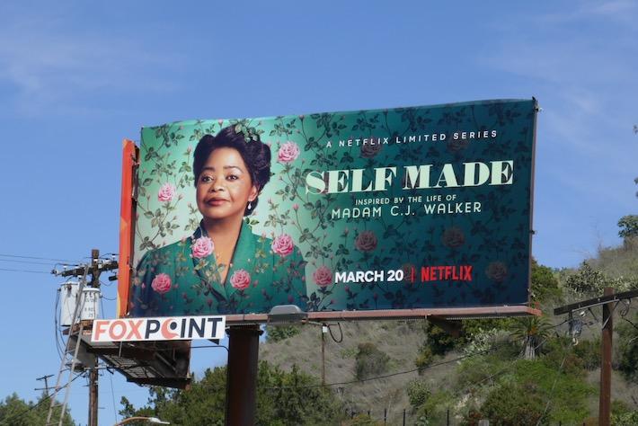 Self Made limited series billboard