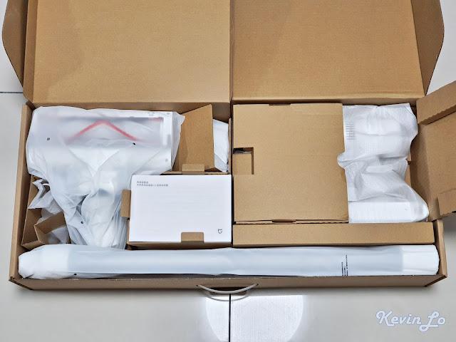 【MI 小米】米家無線吸塵器 G9 (白色) 開箱_內容物