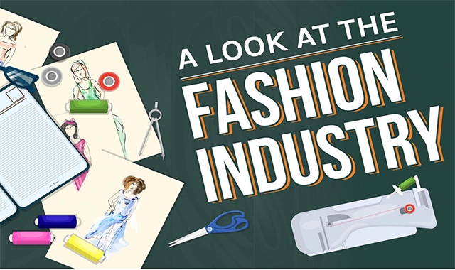 A Look at the Fashion Industry #infographic