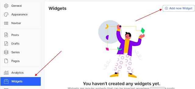 Hashnode Blog Dashboard