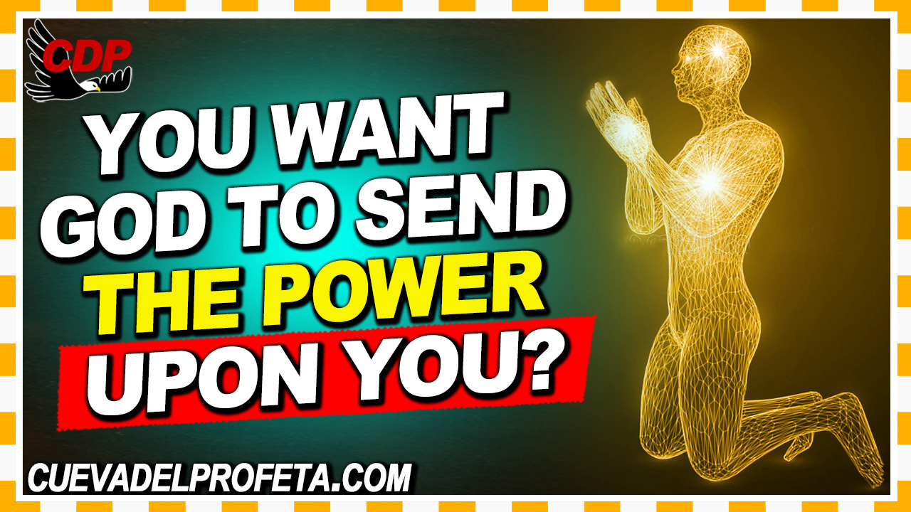 Do you want God to send the power upon you - William Marrion Branham
