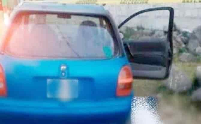 Vehículo, interior, estacionado