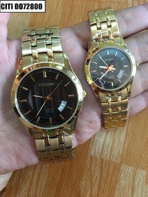 Đồng hồ cặp đôi Citizen Đ072800