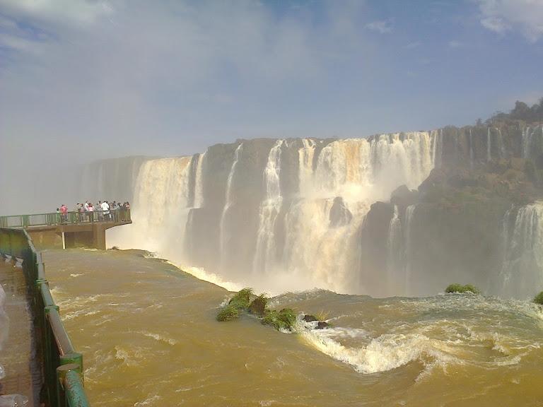 Iguazu Waterval in Argentinië, Brazilië en Paraguay