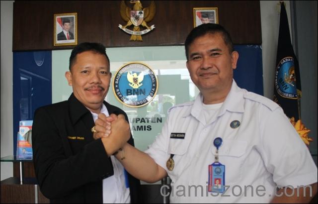 AKBP Yaya Pindah ke Cirebon, Engkos Jabat Ka BNNK Ciamis