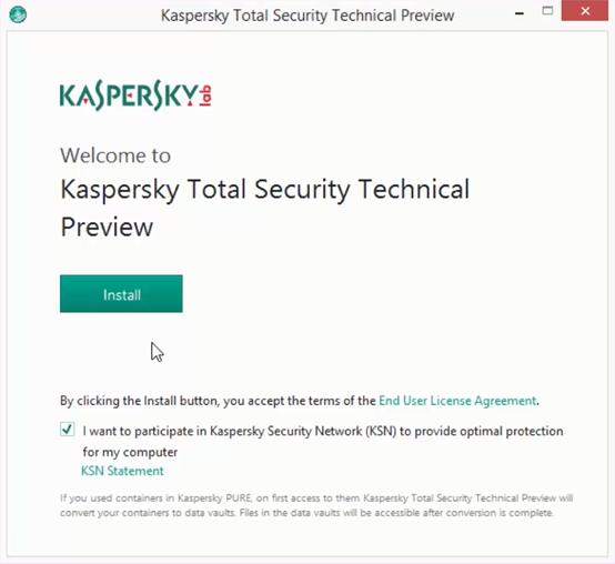 kaspersky pure windows 10